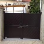 Portail Aluminium Droit ral 1247
